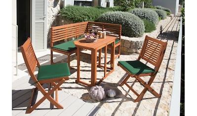 MERXX Gartentisch »Holz«, Eukalyptusholz, klappbar, 90x50 cm, braun kaufen
