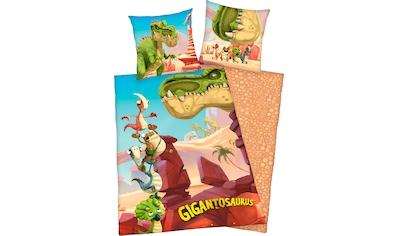 Kinderbettwäsche »Gigantosaurus«, mit tollem Motiv kaufen