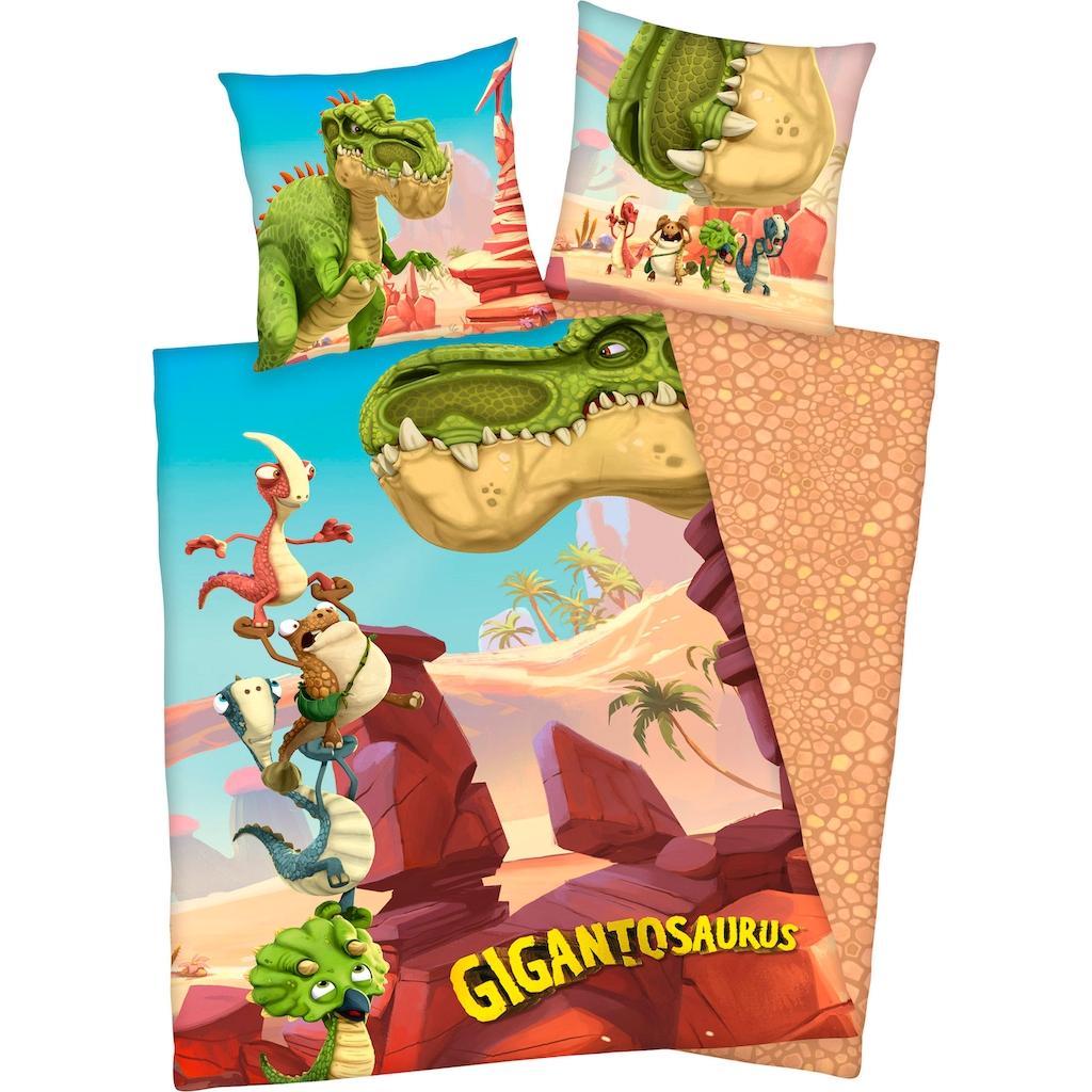 Kinderbettwäsche »Gigantosaurus«, mit tollem Motiv