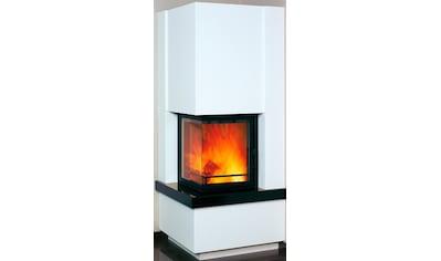 HARK Kaminbausätze »Easy 500«, 8 kW, weiß mit Sims aus naturschwarzem Granit kaufen