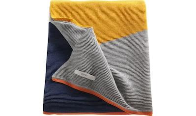 Esprit Wohndecke »Zac«, aus hochwertiger Baumwolle kaufen