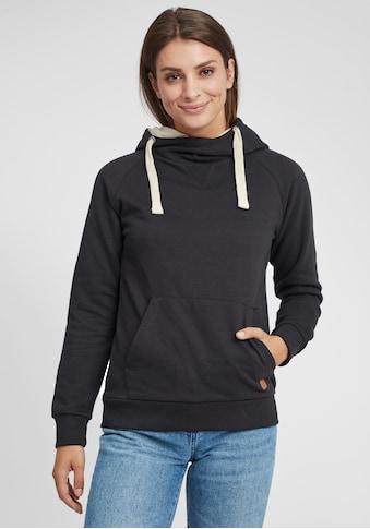 OXMO Hoodie »Julia«, Kapuzenpullover mit Cross-Over Kragen kaufen
