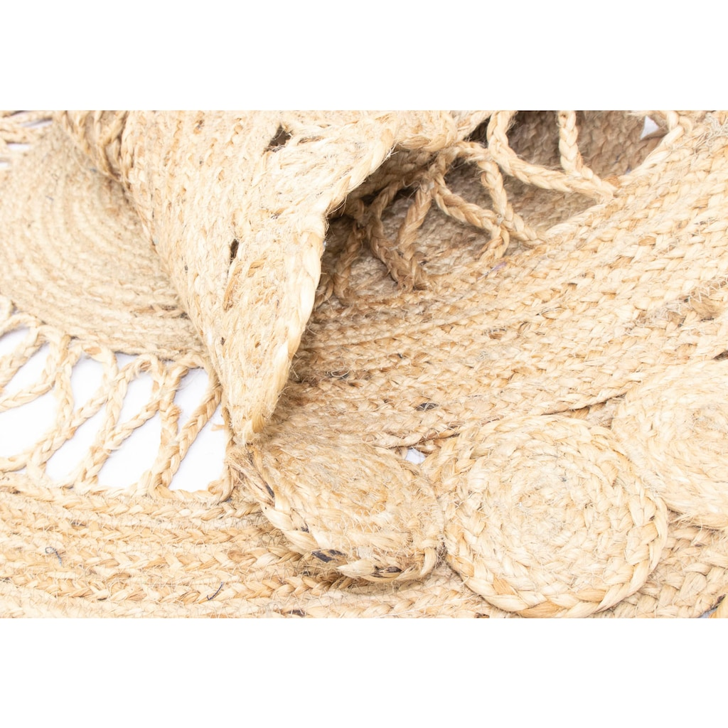 morgenland Teppich »Sisalteppich Teppich Shelley«, rund, 6 mm Höhe