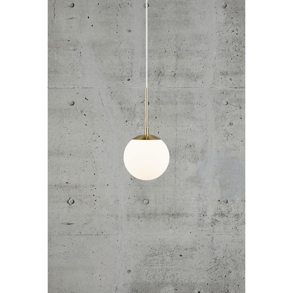 Nordlux Pendelleuchte »GRANT«, E14, Hängeleuchte, Mundgeblasenes Glas, Messing Style