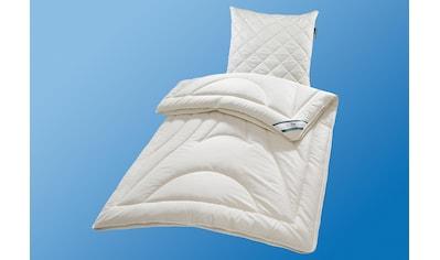 f.a.n. Schlafkomfort 4-Jahreszeitenbett »Heidi«, 4-Jahreszeiten, Füllung 80% Wolle/20% Zirbenflocken, Bezug 100% Baumwolle, (1 St.), eingestreute Zirbeflocken in der Füllung für mehr Behaglichkeit und angenehmem Duft kaufen