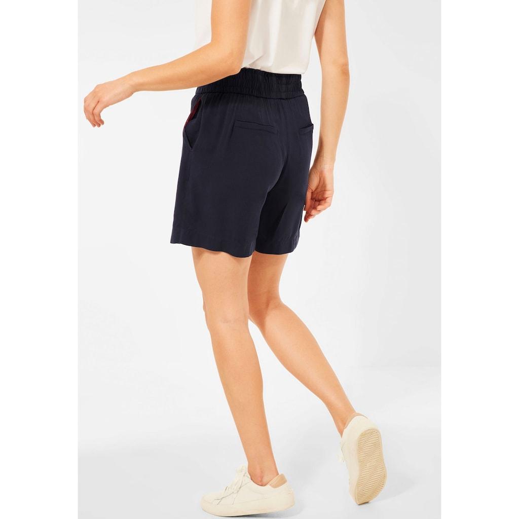STREET ONE Shorts, mit Paperbag-Bund