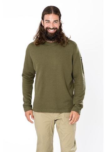 SUPER.NATURAL Sweatshirt »M KNIT SWEATER«, feinster Merino-Materialmix kaufen