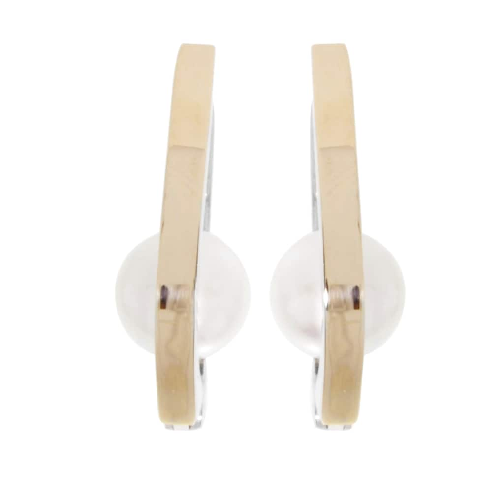 OSTSEE-SCHMUCK Paar Ohrhänger »- Sunny Exklusiv - Silber 925/000 & Gold 585/000 -,«, (2 tlg.)