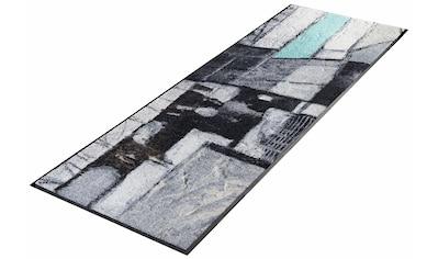 wash+dry by Kleen-Tex Läufer »Lebenswege«, rechteckig, 7 mm Höhe kaufen