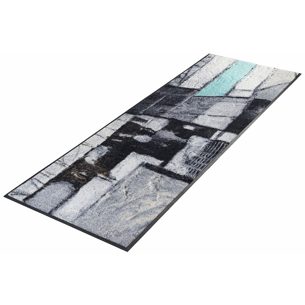 wash+dry by Kleen-Tex Läufer »Lebenswege«, rechteckig, 7 mm Höhe