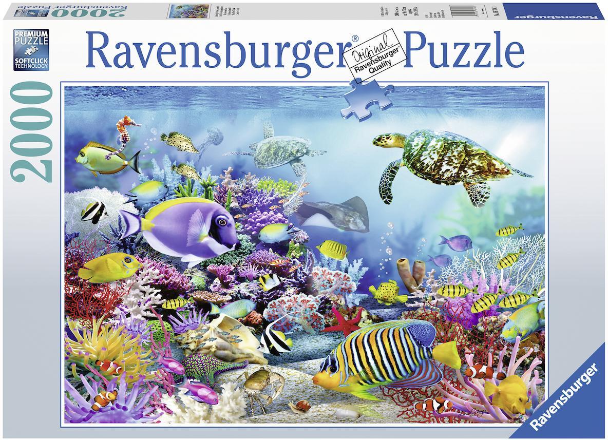 """Ravensburger Puzzle """"Lebendige Unterwasserwelt"""" 2000 Teile Kindermode/Spielzeug/Gesellschaftsspiele/Puzzle/Puzzle"""