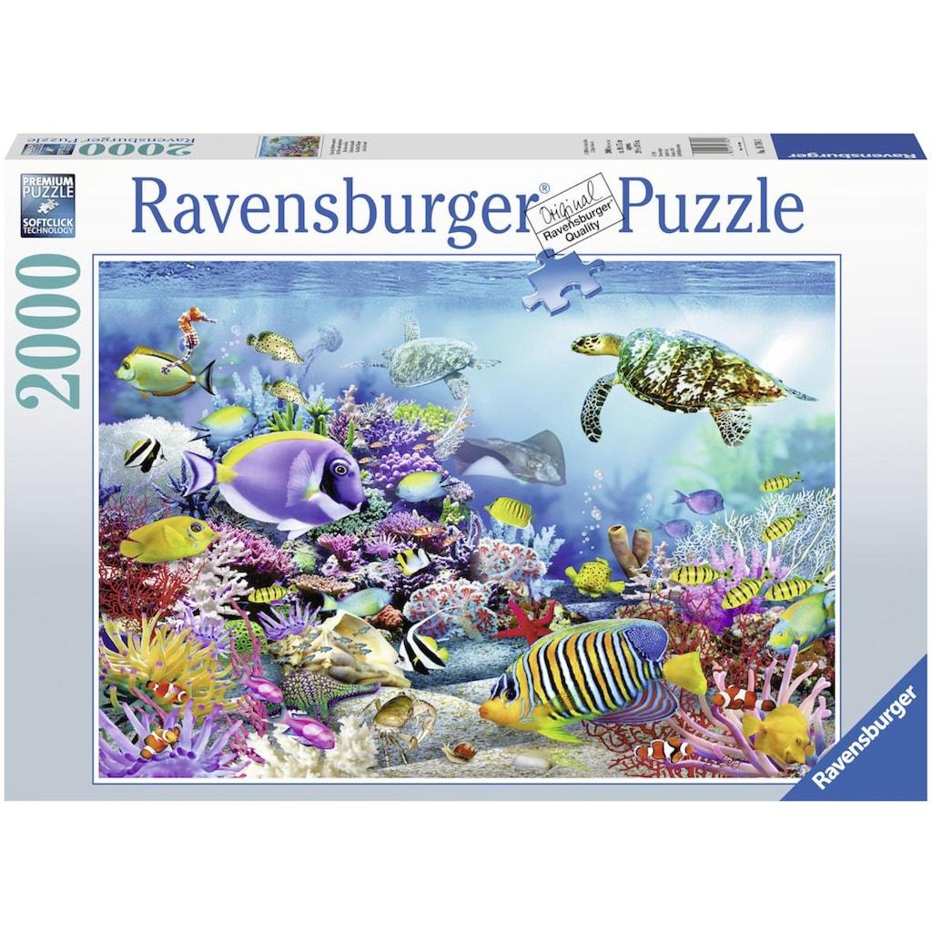 Ravensburger Puzzle »Lebendige Unterwasserwelt«, Made in Germany