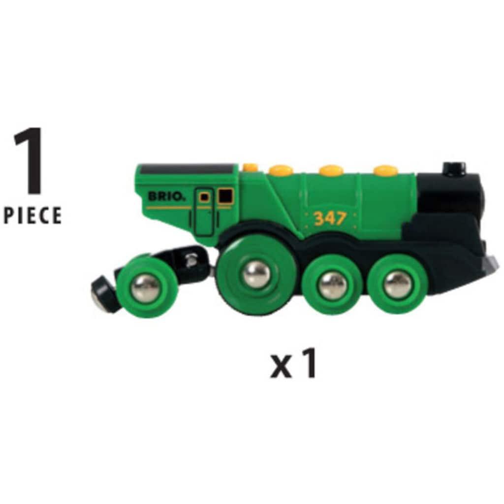 BRIO® Spielzeug-Eisenbahn »BRIO® WORLD Grüner Gustav Batterielok«, mit Soundfunktion, Made in Europe, FSC® - schützt Wald - weltweit