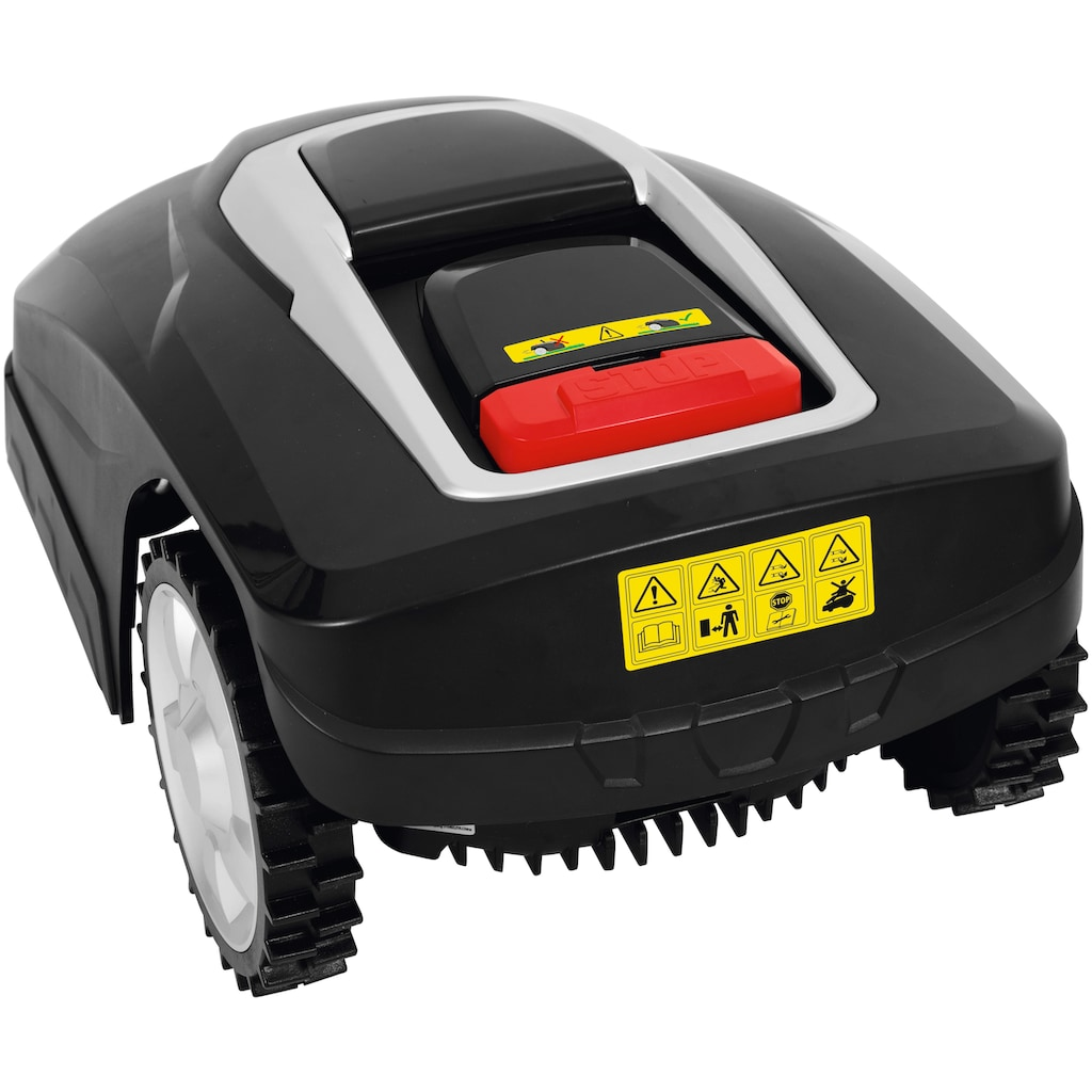 Grizzly Tools Rasenmähroboter »MR 1000 Blackline«, mit Akku und Ladestation