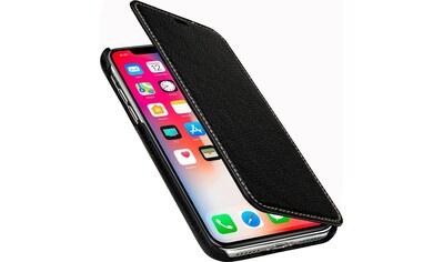 STILGUT Smartphone - Hülle »iPhone X/XS Case Book Type aus Leder ohne Clip für Linkshänder« 14,73 cm (5,8 Zoll) kaufen