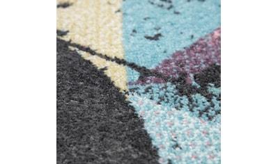 Paco Home Teppich »Petit 486«, rechteckig, 9 mm Höhe, geometrisches Design, Wohnzimmer kaufen
