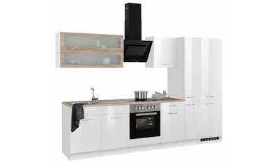 HELD MÖBEL Küchenzeile »Utah«, mit E-Geräten, Breite 300 cm kaufen