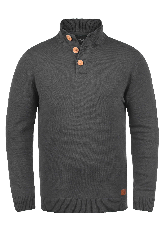 Blend Strickpullover »Lenny« | Bekleidung > Pullover > Sonstige Pullover | Grau | BLEND