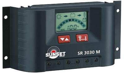 Sunset Solarladegerät »SR 3030M«, 30000 mA, (1 St.), 30A kaufen