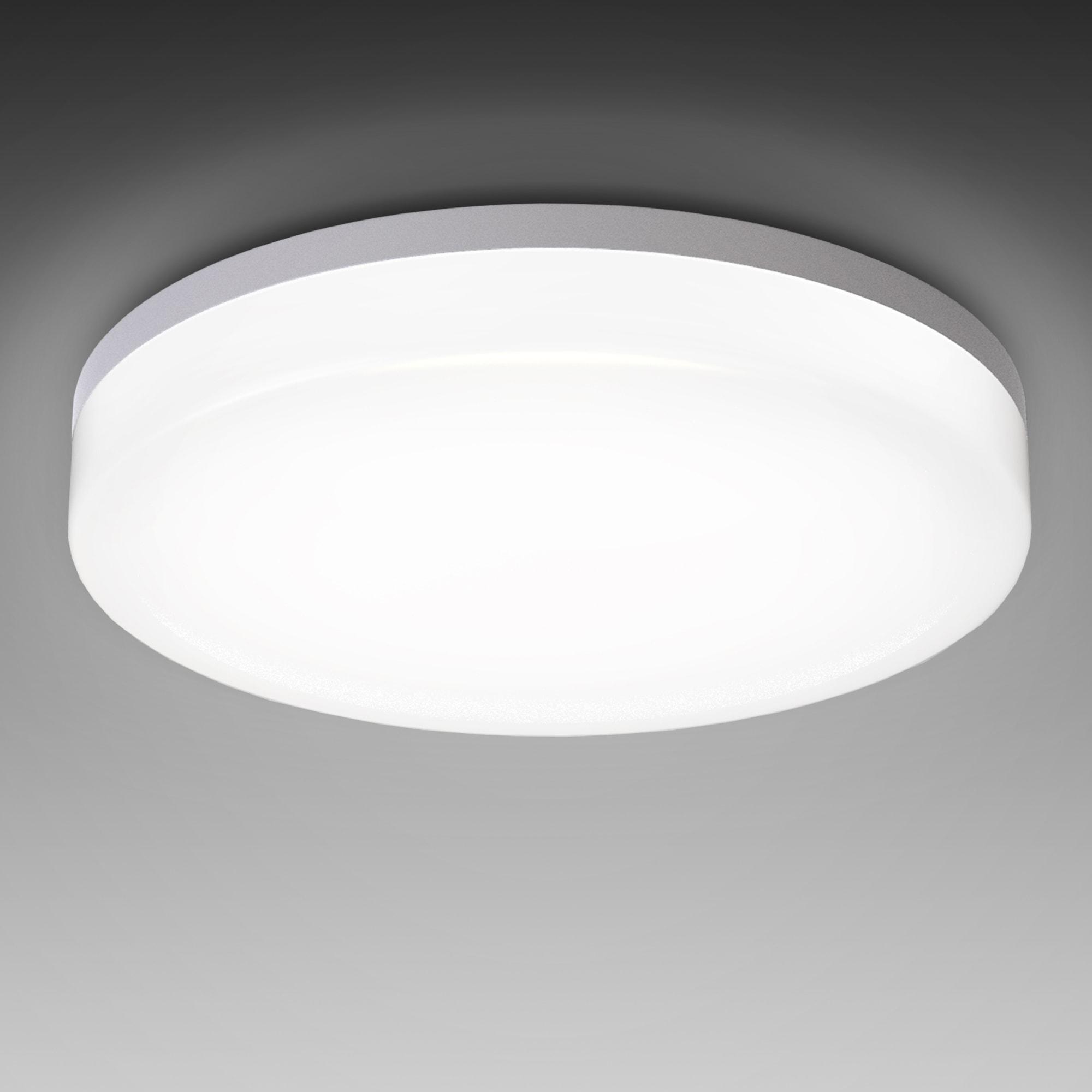 B.K.Licht LED Deckenleuchte Bootes, LED-Board, Neutralweiß, LED Deckenlampe 18W Bad-Lampen IP54 Badezimmer-Leuchte Deckenleuchte Küche Flur
