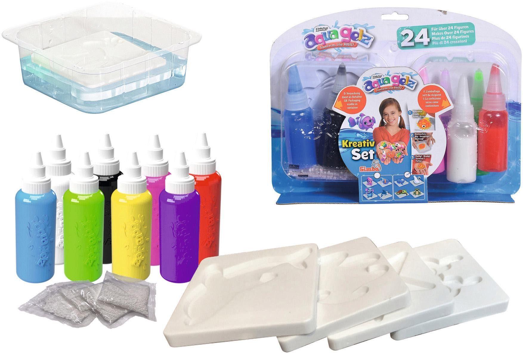 "SIMBA Kreativset ""Aqua Gelz"" Kindermode/Spielzeug/Basteln, Malen, Kosmetik & Schmuck/Bastelbedarf & -techniken"
