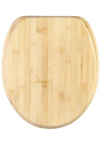 Sanilo WC-Sitz »Bambus« kaufen