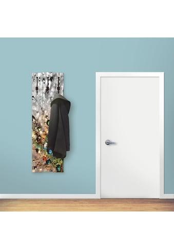Artland Garderobenpaneel »Farbenfrohe Natur«, platzsparende Wandgarderobe aus Holz mit... kaufen