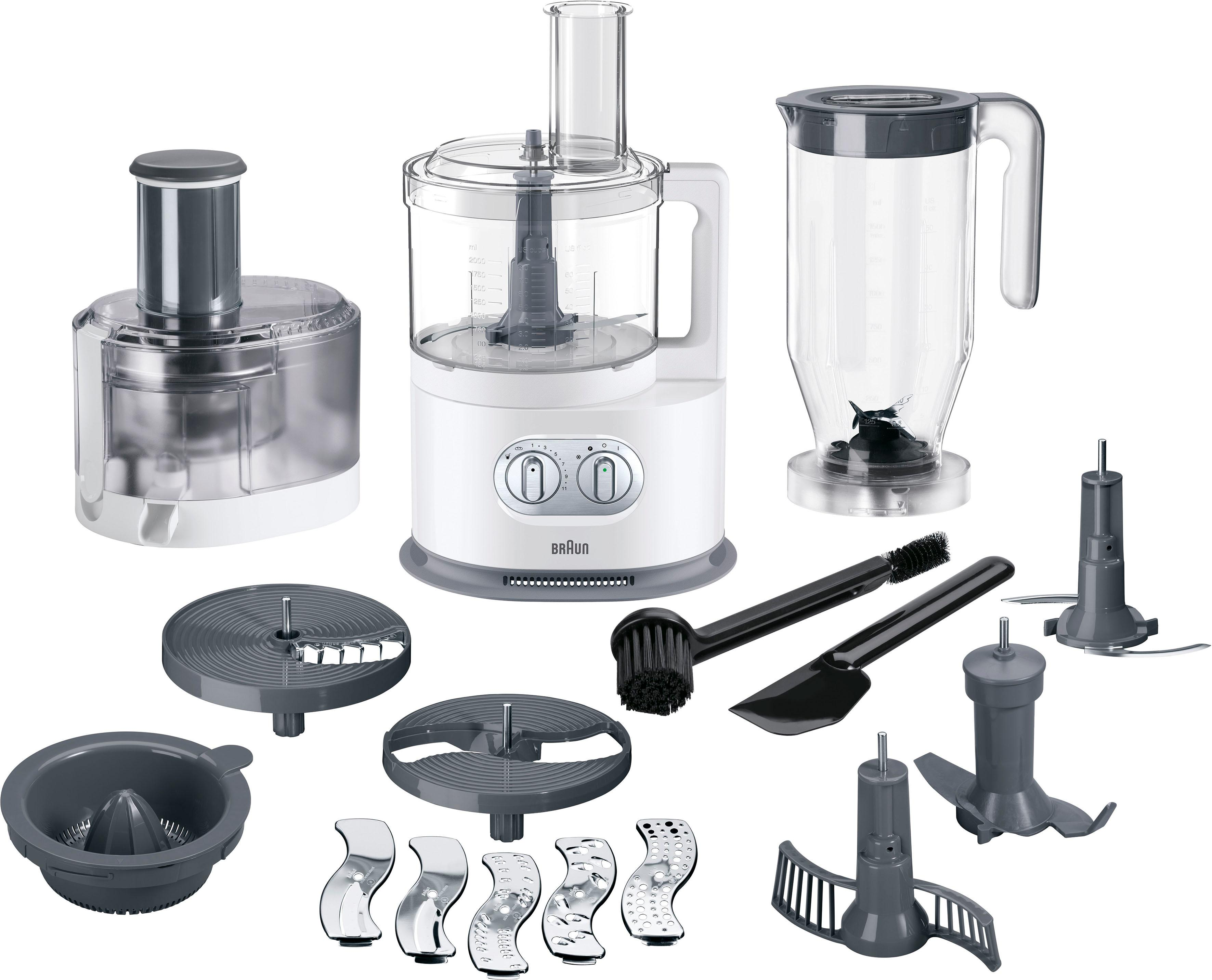 Braun Küchenmaschine mit Kochfunktion FP 5160, 1000 Watt, Schüssel 2 Liter  kaufen   BAUR