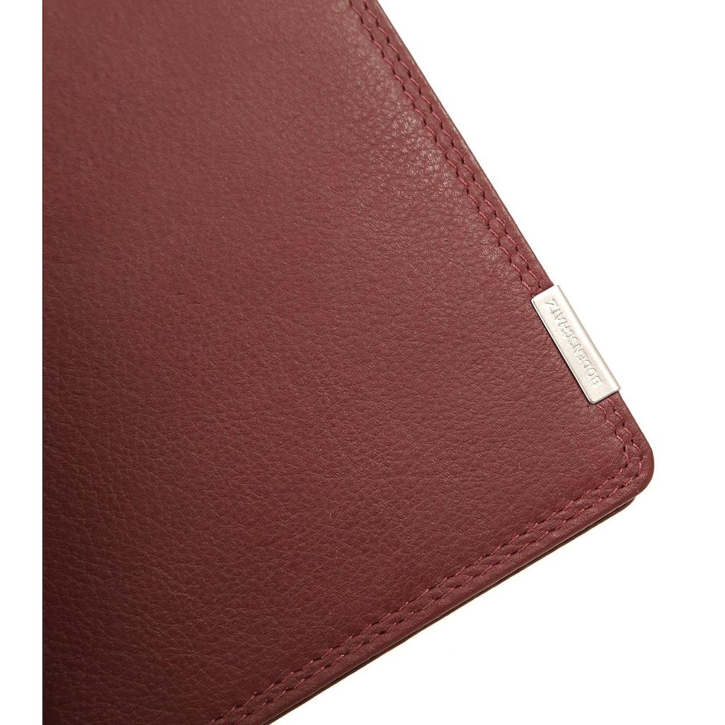 BODENSCHATZ Brieftasche »KINGS NAPPA«, besonders schlankes Design