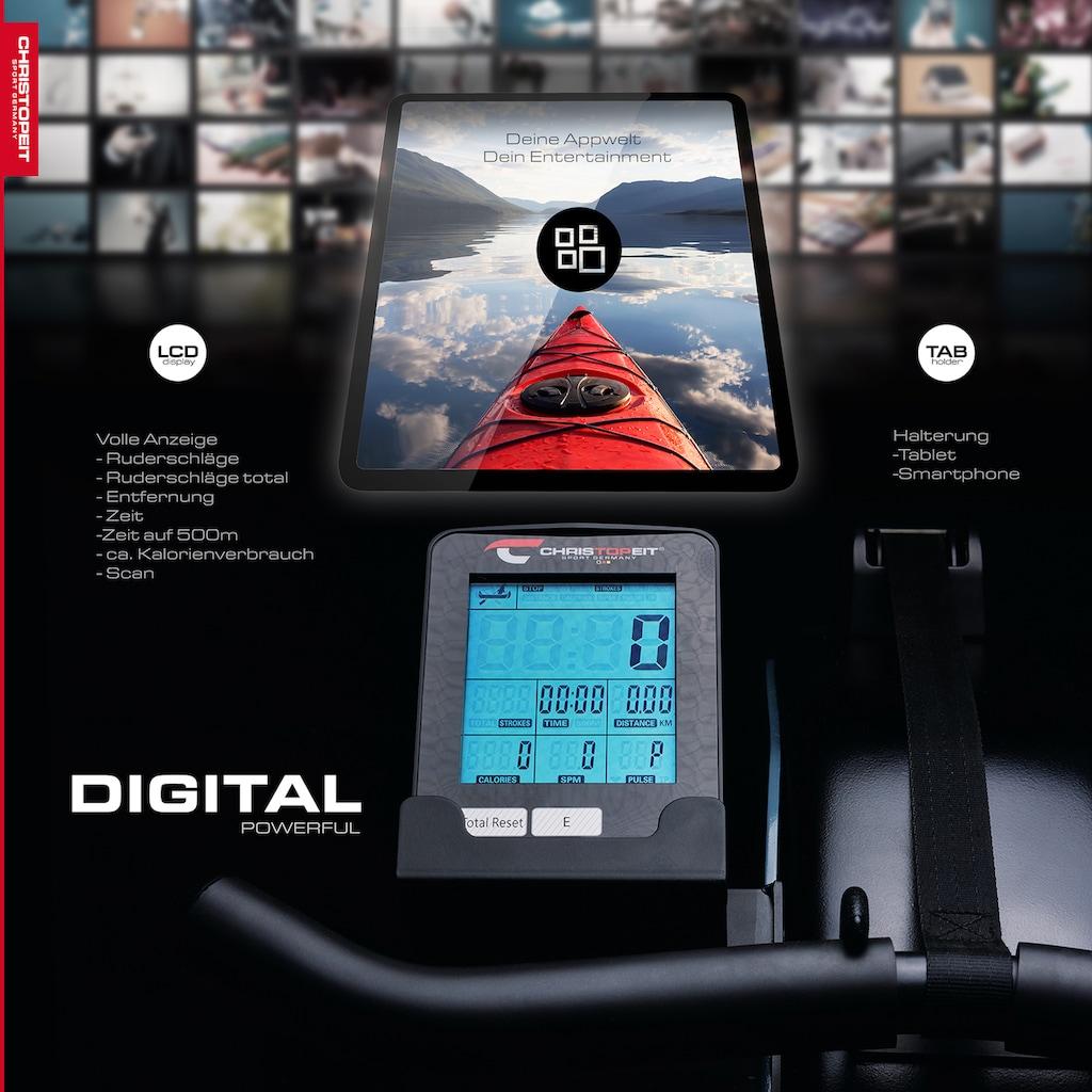 Christopeit Sport® Ruderzugmaschine »WP 1000«