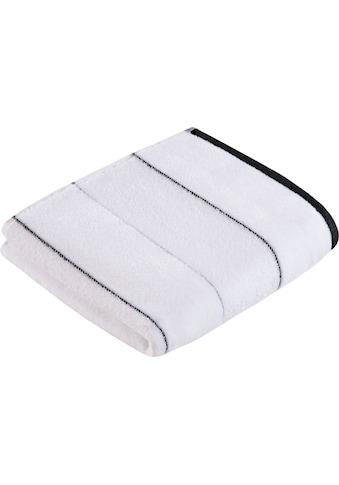 Vossen Handtücher »Maxim«, (2 St.), mit Wellenstruktur kaufen