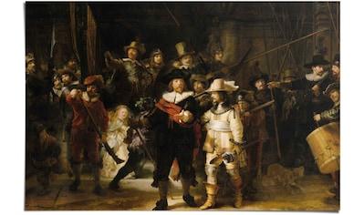 Reinders! Poster »Rembrandt Die Nachtwache«, (1 St.) kaufen
