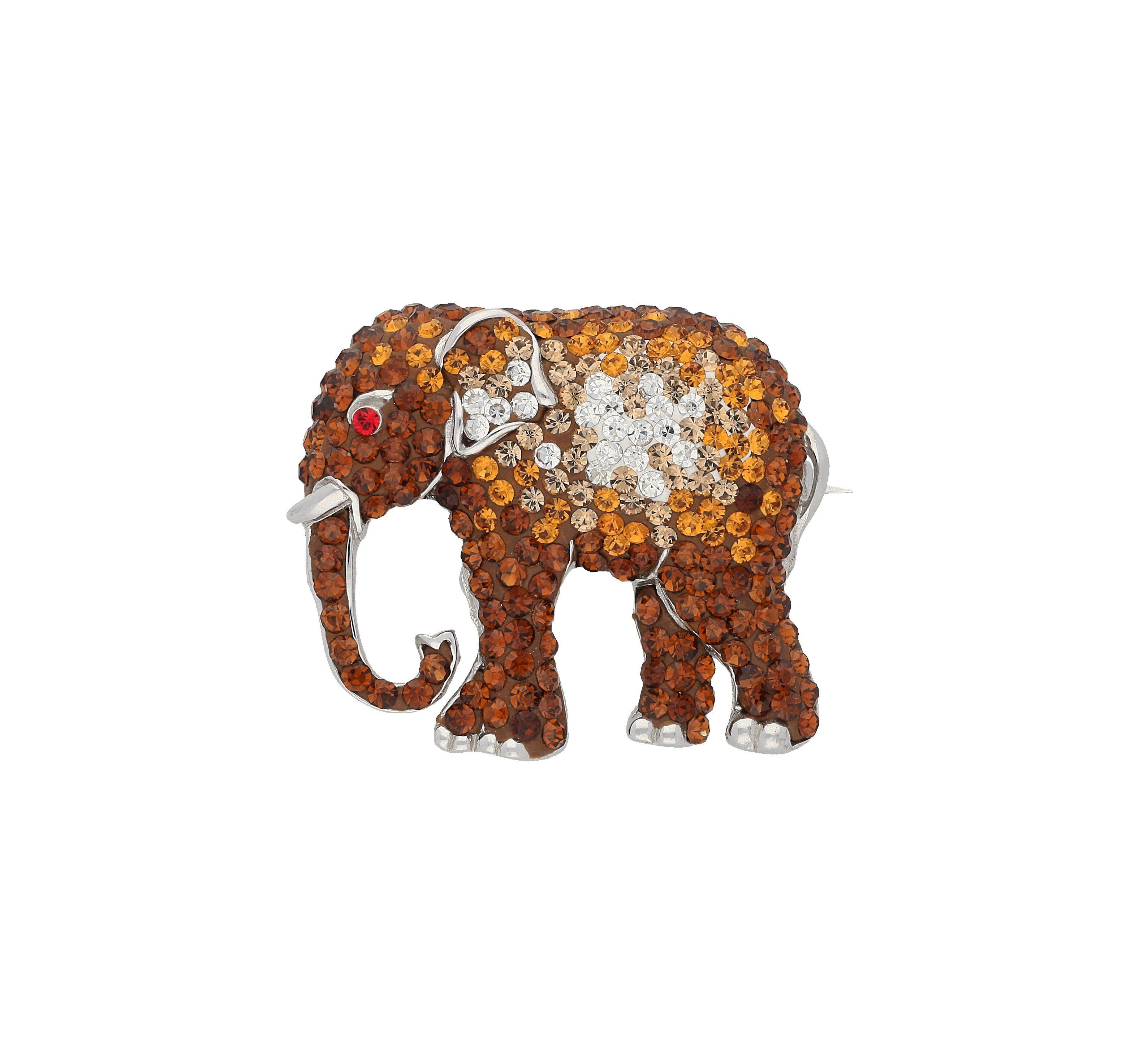 Vivance Brosche Elefant | Schmuck > Broschen | Vivance