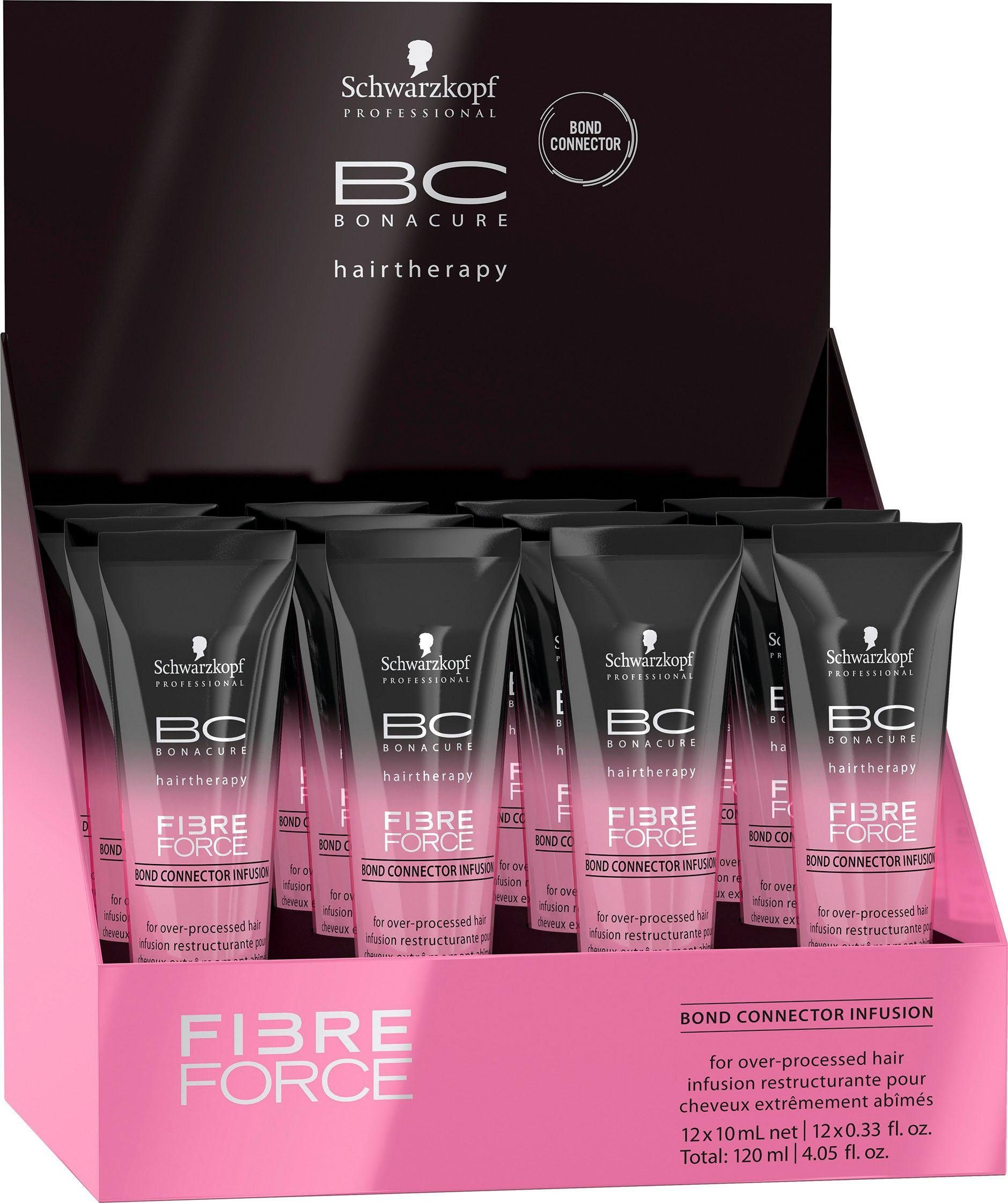 schwarzkopf professional -  Haarserum BC Bonacure Fibre Force Bond Connector Infusion, Für übermäßig behandeltes Haar