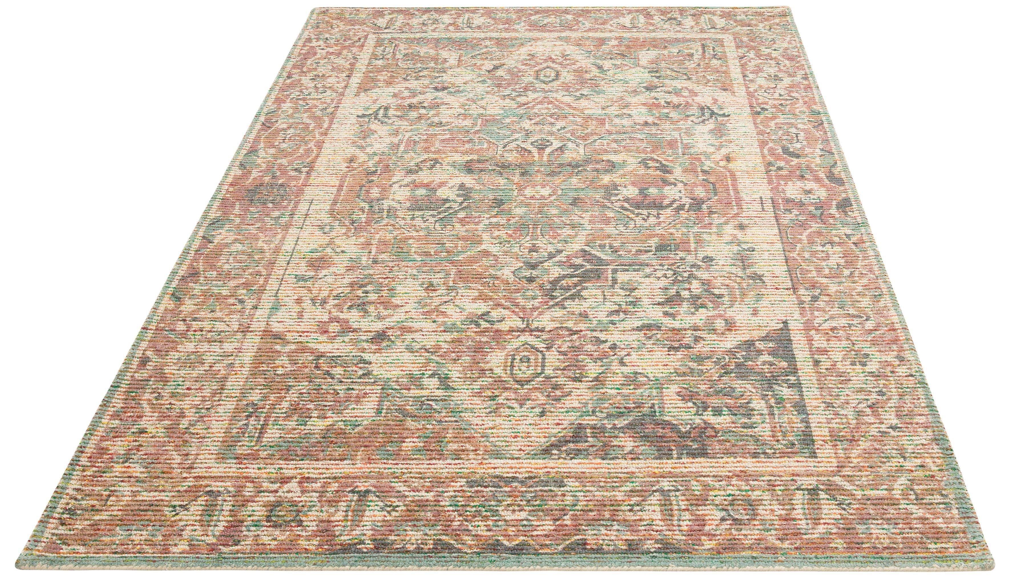 Teppich Kolat DELAVITA rechteckig Höhe 16 mm gedruckt