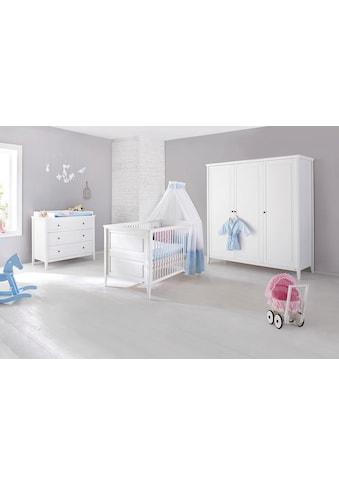 Pinolino® Babyzimmer-Komplettset »Smilla«, (Set, 3 St.), breit groß; mit Kinderbett,... kaufen
