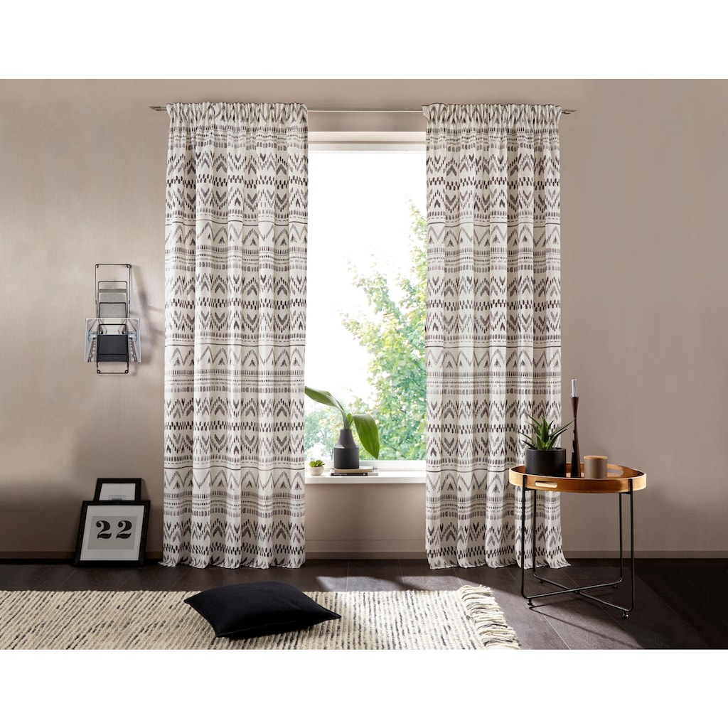 andas Vorhang »Kiras«, mit modernen Muster
