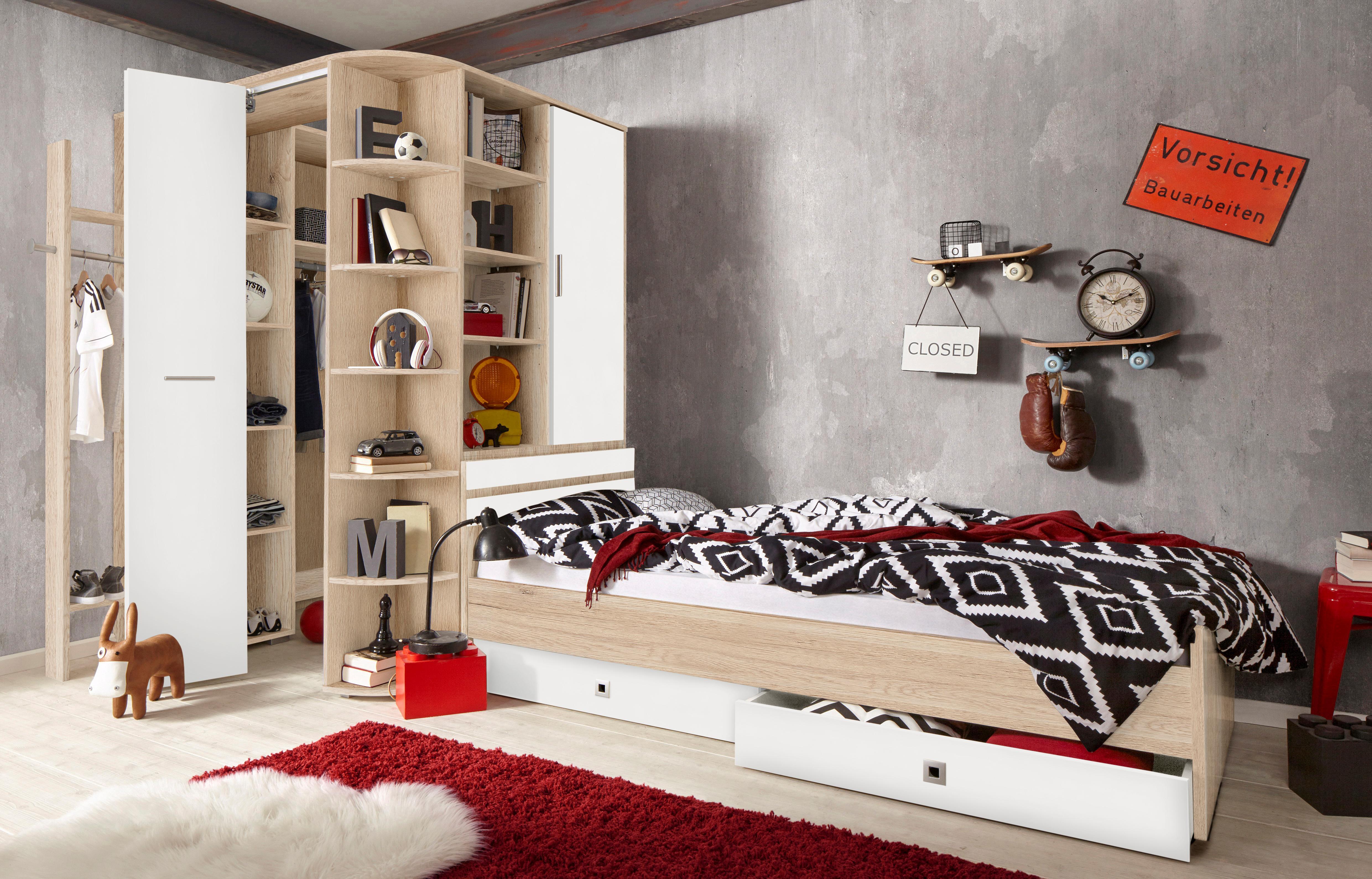 Holzfarben Holzwerkstoff Foliert Komplett Jugendzimmer Online Kaufen