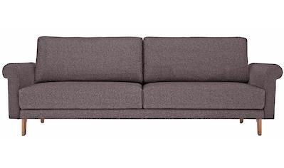 hülsta sofa 2-Sitzer »hs.450«, wahlweise in Stoff oder Leder, im modernen Landhausstil kaufen