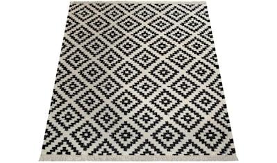 Teppich, »Kenitra 500«, Paco Home, rechteckig, Höhe 13 mm, maschinell gewebt kaufen