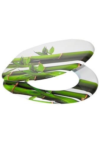 SANILO WC - Sitz »Bambus Grün«, mit Absenkautomatik kaufen
