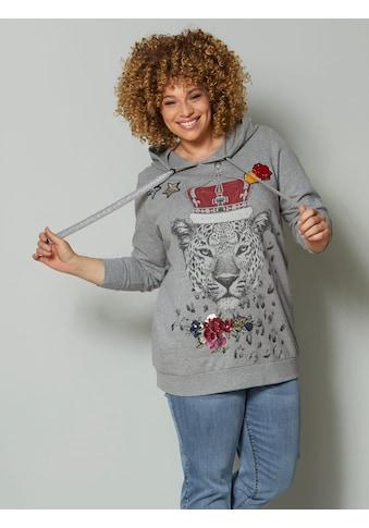 Angel of Style by HAPPYsize Sweatshirt, mit modischem Leopardendruck kaufen