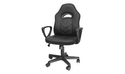 DELTACO Gaming Stuhl, Junior Größe, PU Leder, Höhe verstellbar »Klassischer Gaming Stuhl« kaufen