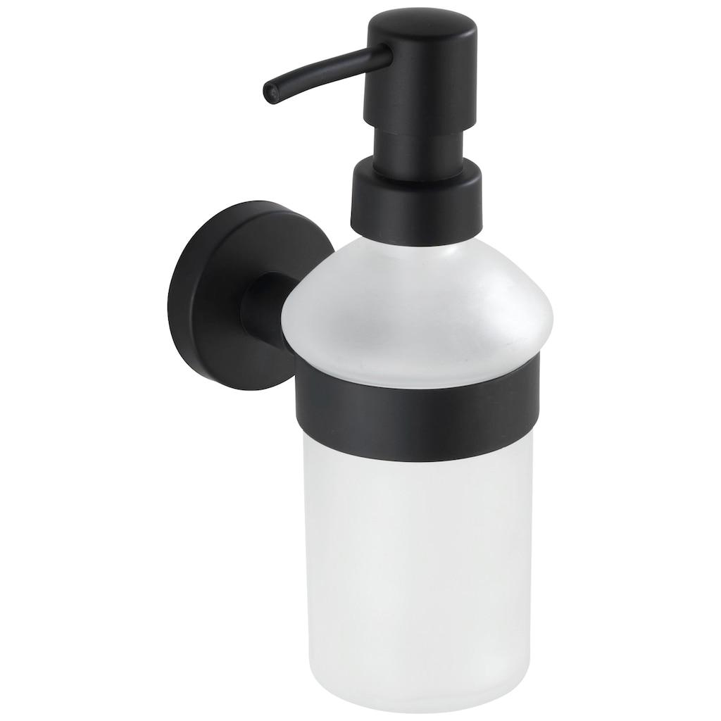 WENKO Seifenspender »Bosio«, Edelstahl rostfrei, ca. 200 ml
