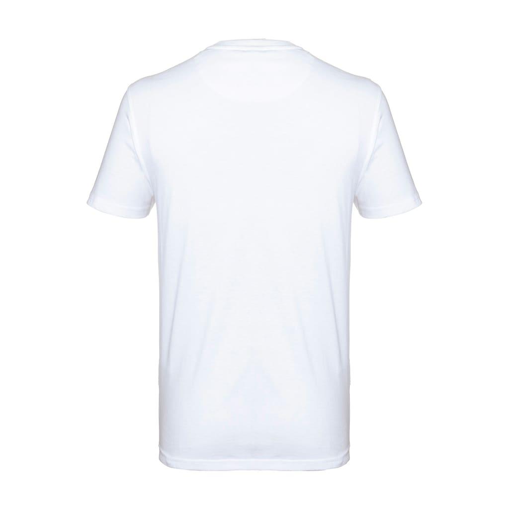 Kübler Kurzarmshirt »KÜBLER PULSE T-Shirt Pulse; weiß«