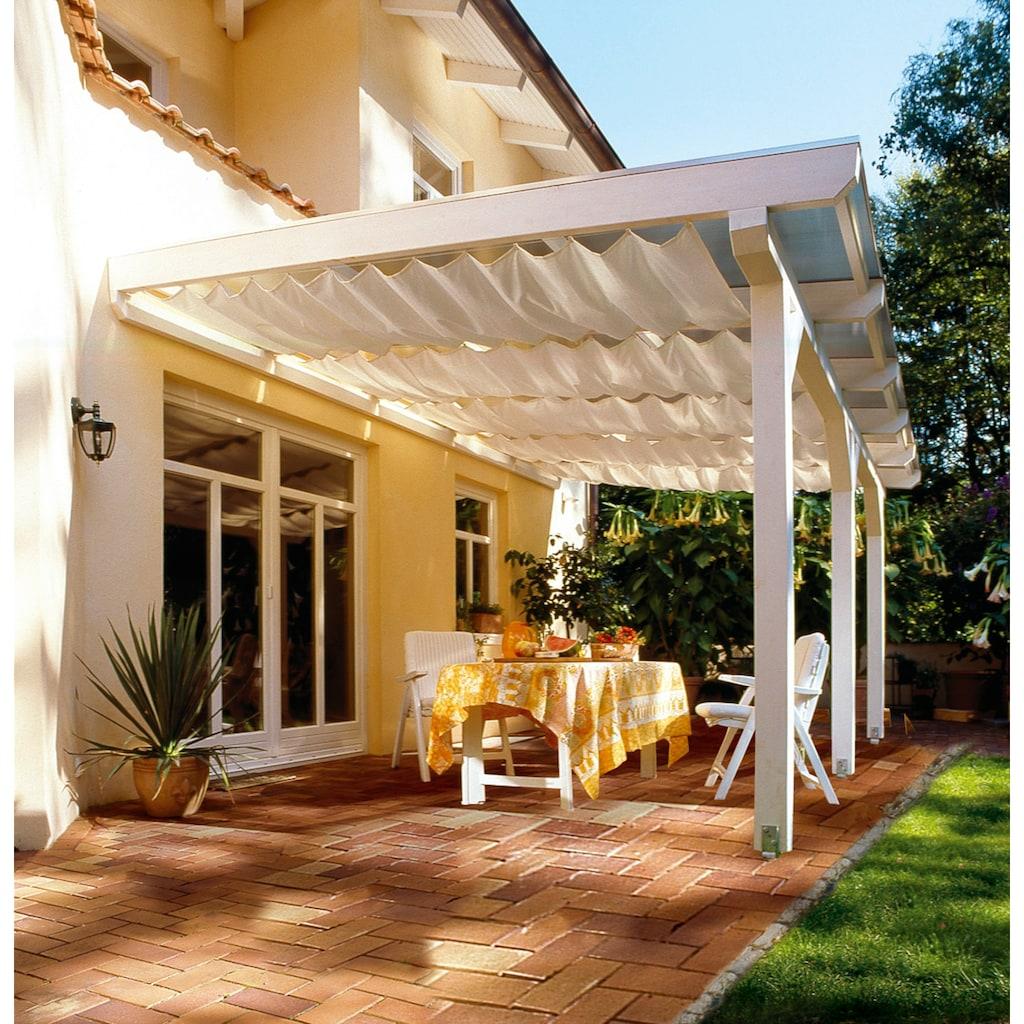 Floracord Sonnensegel »Bausatz Universal«, BxT: 330x140 cm, elfenbein