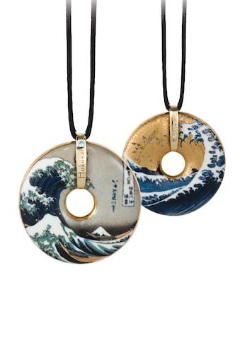 Goebel Kette mit Anhänger »Circle Die große Welle, Hokusai, 66989948«, mit Kristall kaufen