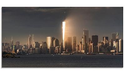 Artland Glasbild »New York Skyline I«, Amerika, (1 St.) kaufen