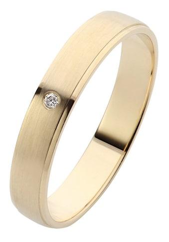 Firetti Trauring mit Gravur »glänzend, längs gebürstet, Diamantschnitt, in mehreren... kaufen