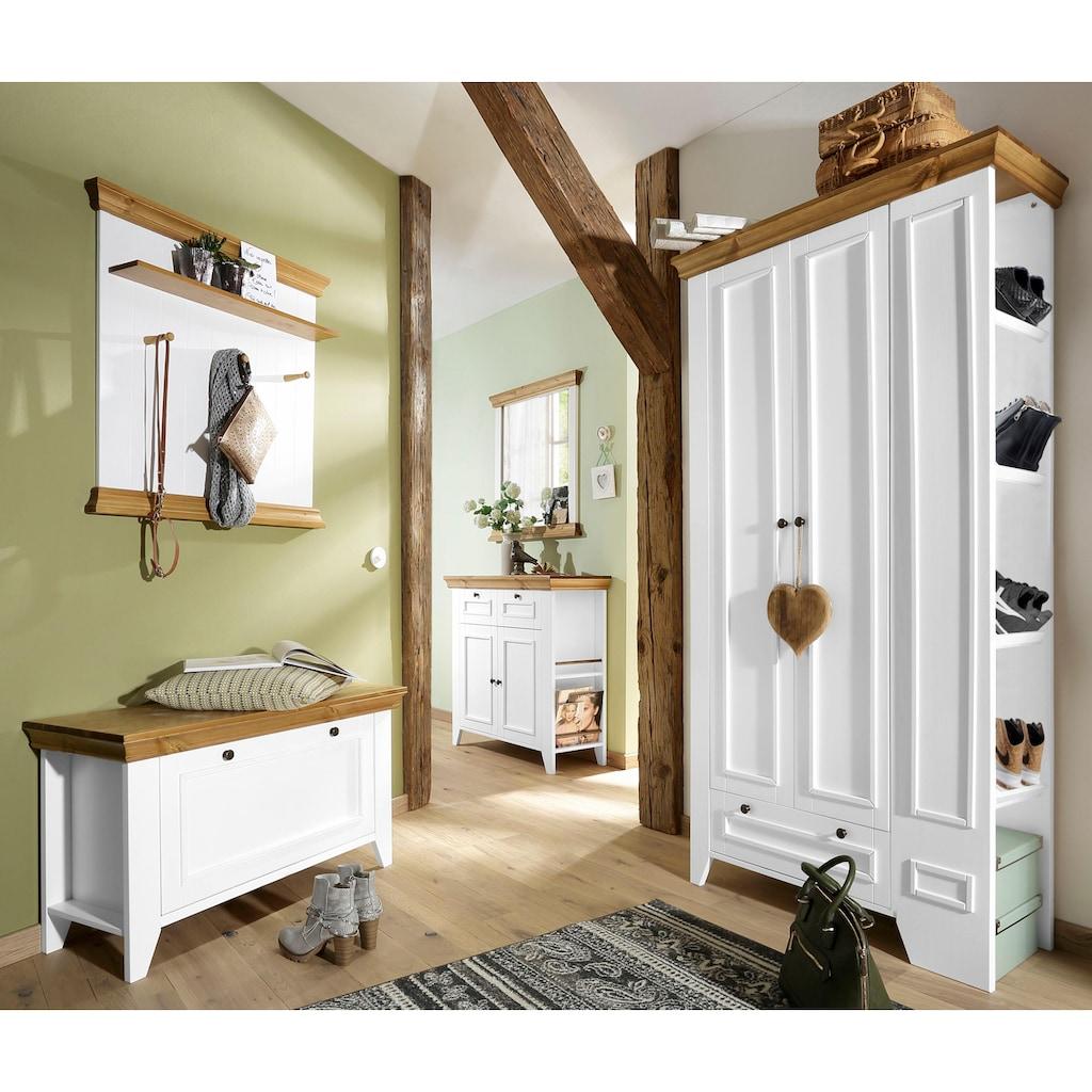 Home affaire Garderobenschrank »Skandinavia«, aus massiver Kiefer